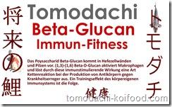 Beta-Glucan Immunfitness von Tomodachi Koifood