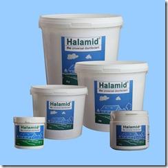 Halamid ist ein universelles Desinfektionsmittel und hochwirksam gegen Einzeller, Viren, Bakterien und Pilze im Teich und Aquarium.